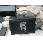 Ammo Can - Laser Etched Spartan Helmet