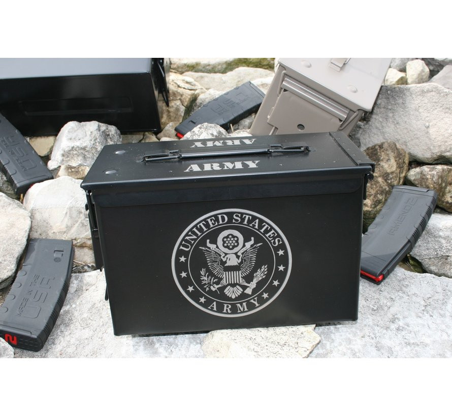 Ammo Can - Laser Etched Army