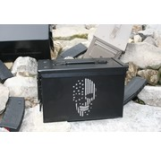 Ammo Can - Laser Etched Skull with Flag