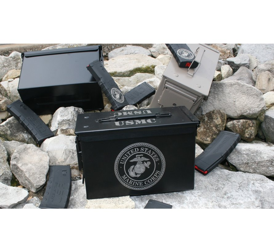Ammo Can - Laser Etched Marine Corps
