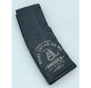 Amend2 Amend2 AR-15 30 Round Magazine (Black) | Etched Don't Tread on Me