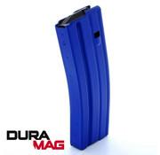 Duramag Duramag AR-15 30 Round Aluminum Magazine (Blue)
