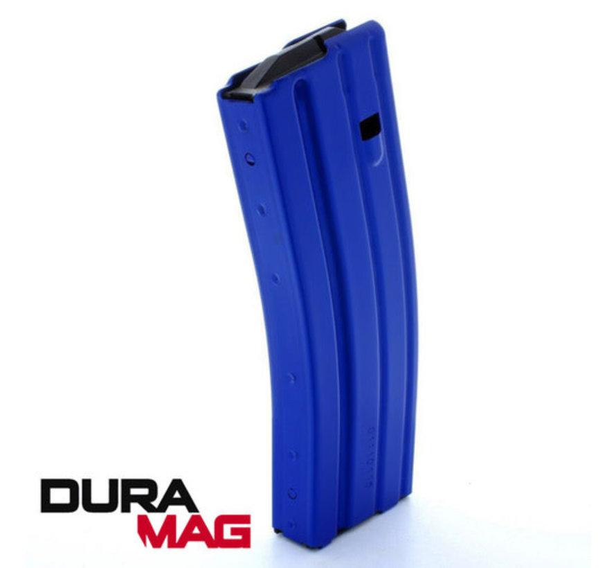 Duramag AR-15 30 Round Aluminum Magazine (Blue)