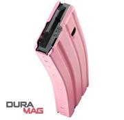 Duramag Duramag AR-15 30 Round Aluminum Magazine (Pink)