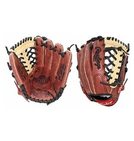 "Rawlings Rawlings Select Series 11.5"" Mod Trap Web Glove-Sherry/Carmel-Right Hand Throw"