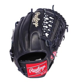 "Rawlings Rawlings Pro Preferred Infield 11.50"" Trap-Eze Web Baseball Glove-Navy Blue-Right Hand Throw"