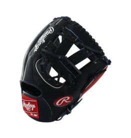 "Rawlings Rawlings Heart of Hide Pro 11.25"" Infield Glove Navy/Red-Right Hand Throw"