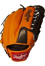 """Rawlings Rawlings Heart of the Hide Limited Edition Series Orange/Black 11.75"""" Baseball Glove-Right Hand Throw"""