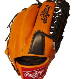 "Rawlings Rawlings Heart of the Hide Limited Edition Series Orange/Black 11.75"" Baseball Glove-Right Hand Throw"