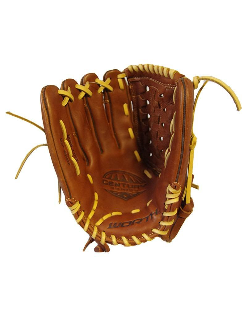 "Worth Worth Century Series 12.5"" Softball Glove-Left Hand Throw"