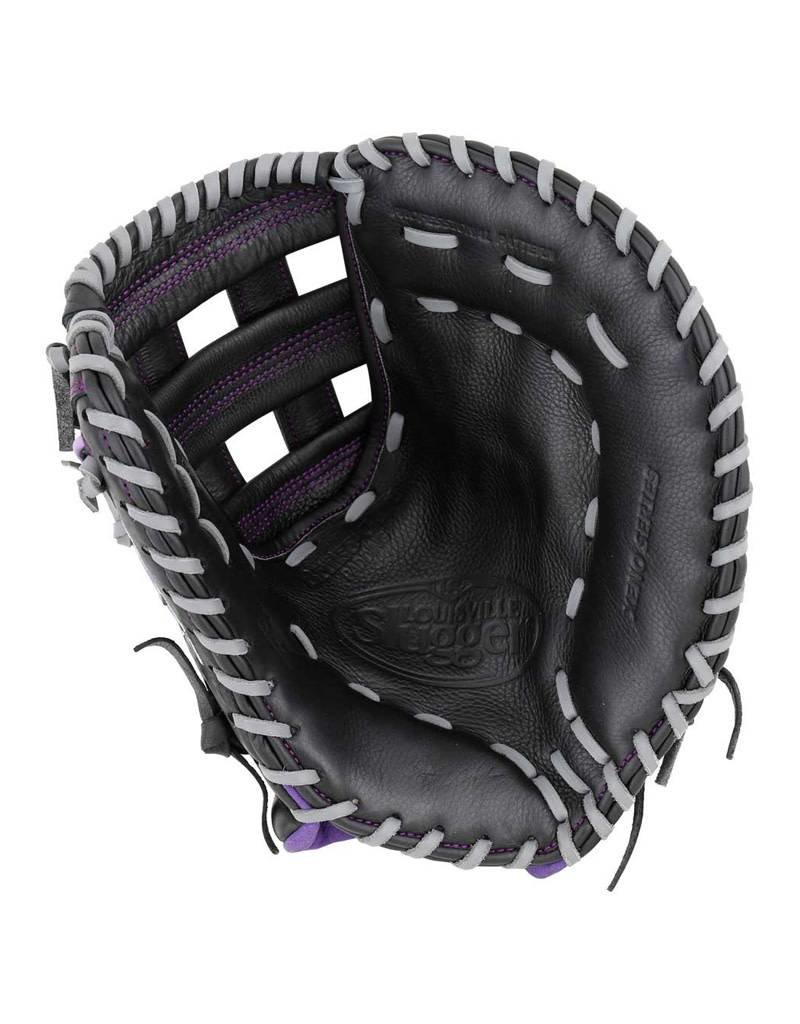 Wilson Xeno Black Premium Leather Fast Pitch First Base Mitt-Right Hand Throw
