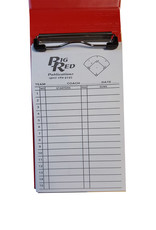 Big Red Baseball/Softball Line Up Card Holder with set of 24 lineup cards