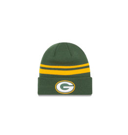 New Era Green Bay Packers Stocking Cap Knit Collection