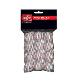 """Rawlings Rawlings 5"""" Tape Balls 12 PACK"""