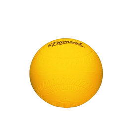 "Diamond Diamond Yellow foam 9"" Training Baseball"