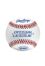 Rawlings Rawlings High School raised seam Cushion Cork Center Leather Baseball - dozen