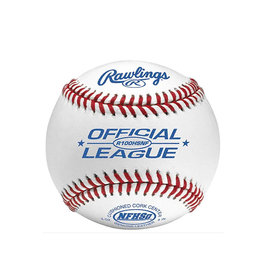 Rawlings Rawlings High School raised seam Cushion Cork Center Leather Baseball - dozen