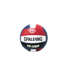 Spalding Spalding TF-VB5 Red/White/Blue Official NFHS  leather volleyball