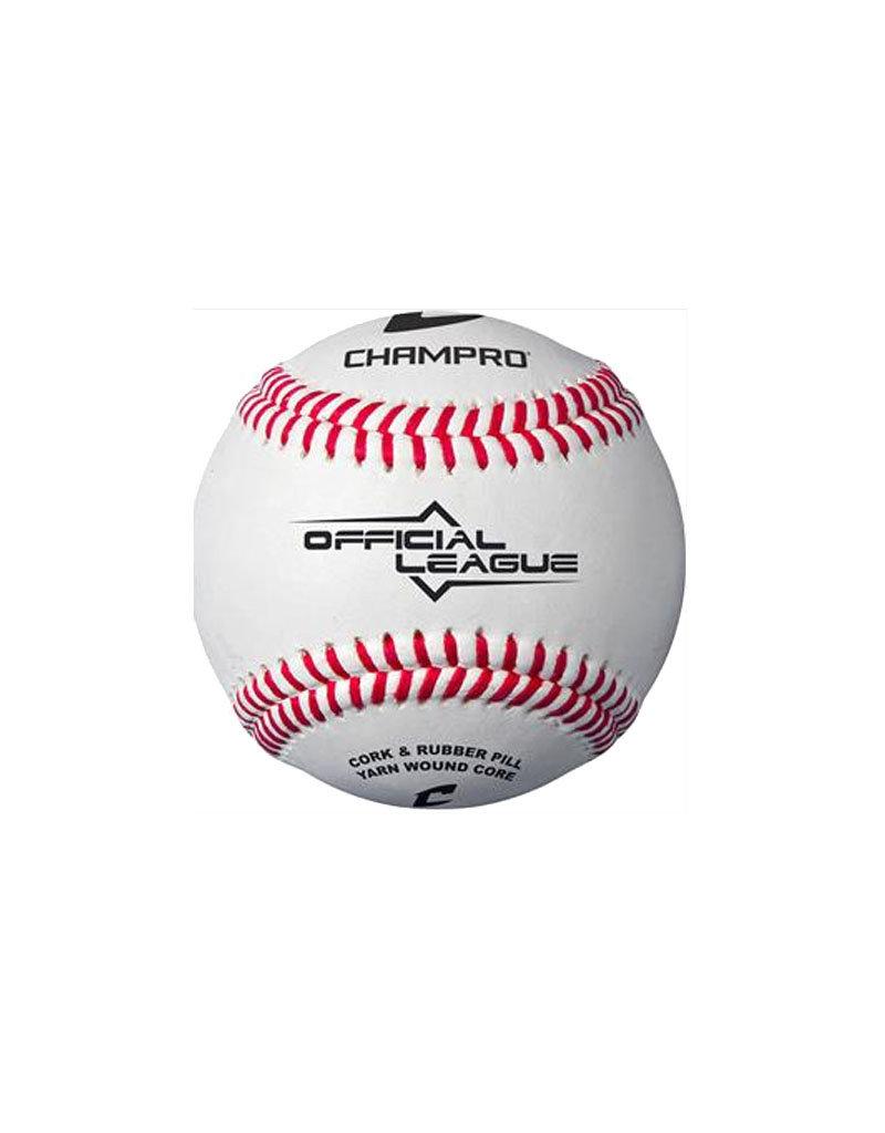Champro Champro Cushion Cork Core Official League Baseball (Dozen)
