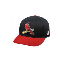 MLB twill replica Cap w/adjustable Velcro CARDINALS Alternate w/bird