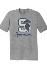 Rah-Rah Clothing Pleasant Valley Spartans Triblend Short Sleeve Tee