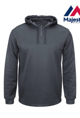 Majestic Majestic Therma Base 1/4 zip hooded fleece