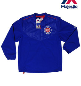 Majestic Majestic Chicago Cubs Authentic Collection Cool Base® Long Sleeve Training Jacket -