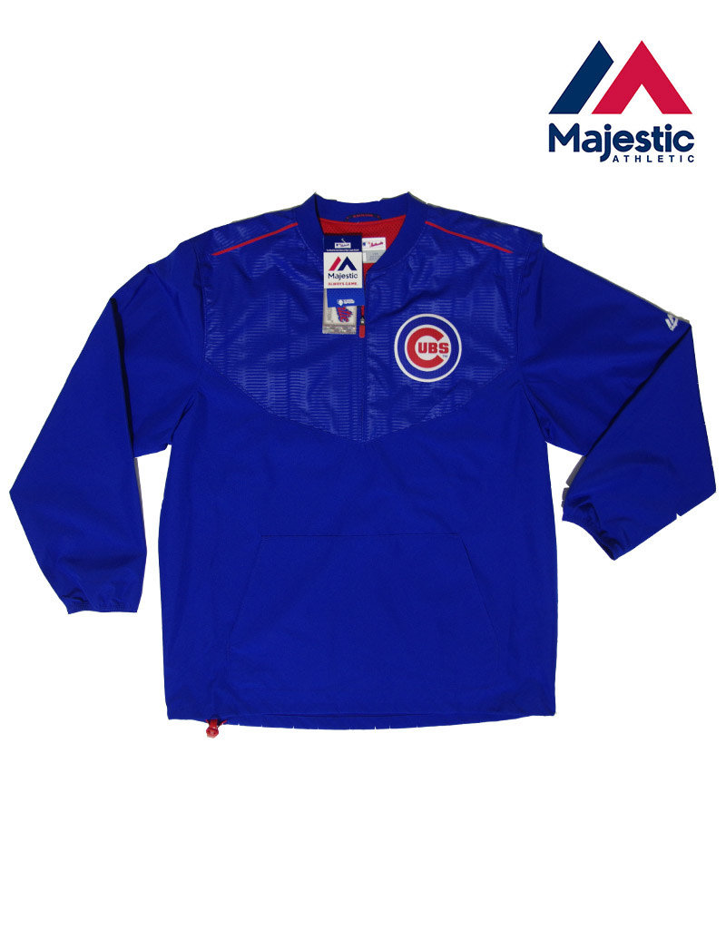 super popular 11c32 dfc27 Majestic Majestic Chicago Cubs Authentic Collection Cool Base® Long Sleeve  Training Jacket -