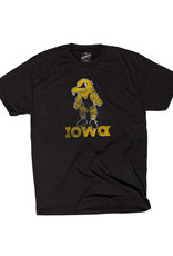 Rah-Rah Clothing Iowa Wrestling Eightees Triblend Short Sleeve Tee