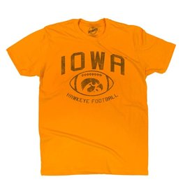 Rah-Rah Clothing Iowa Hawkeye Football Short Sleeve Tee