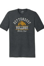Rah-Rah Bettendorf Bulldogs Athletic Dept. Triblend Short Sleeve Tee