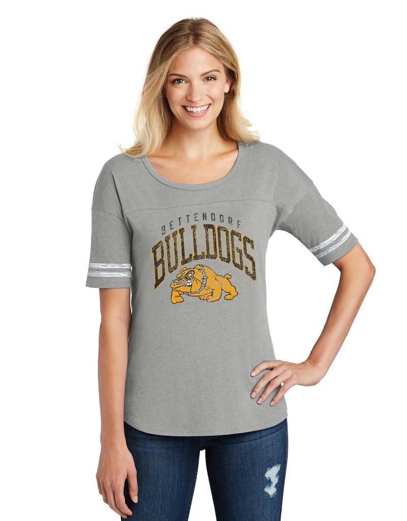 Rah-Rah Bettendorf Bulldogs Women's Scorecard Tee