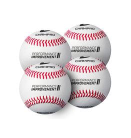 """Champro Champro 7.5"""" Training Baseballs (Pack of 4)"""