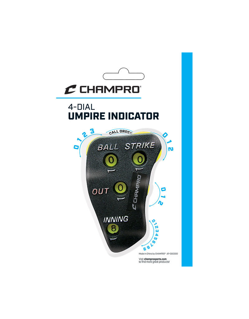Champro Champro 4-Dial Umpire Indicator