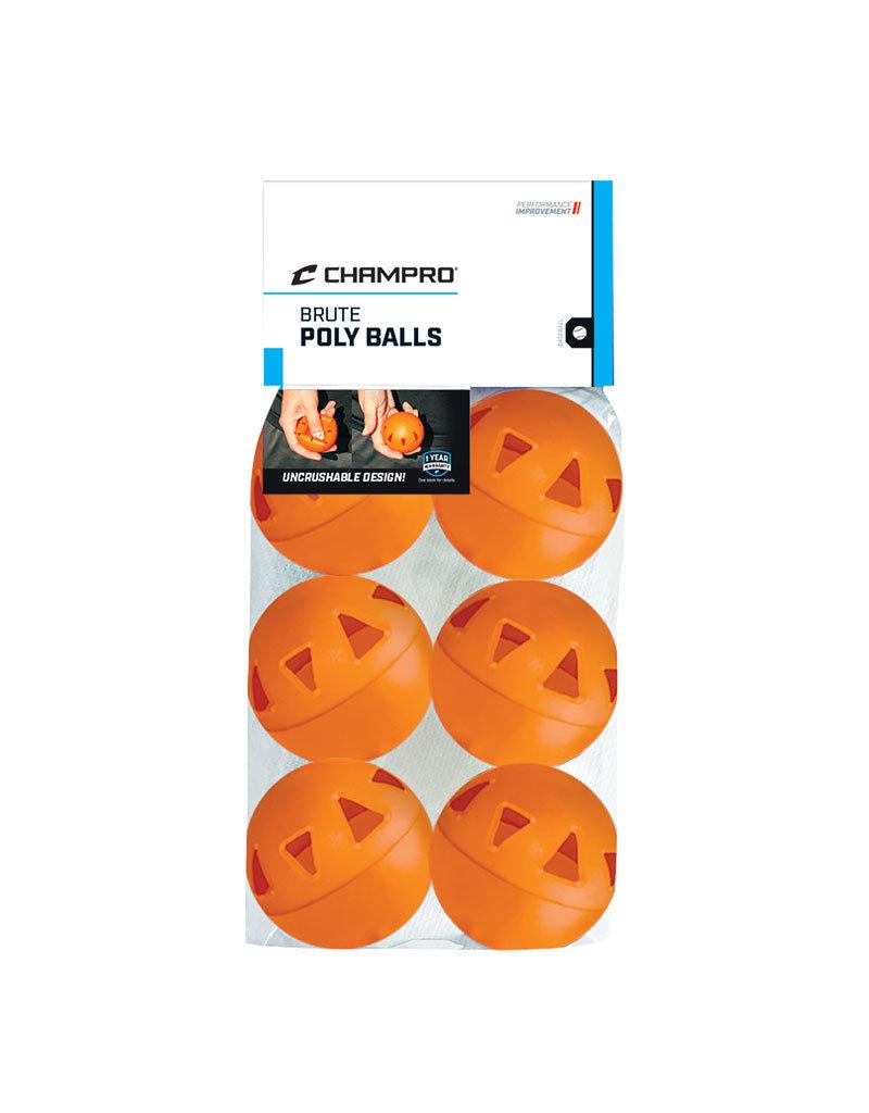 "9"" Brute Poly Heavy Duty Wiffle Training Balls"