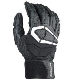 Cutters Cutters THE FORCE 3.0    Padded Lineman  Football Gloves (pair) BLACK