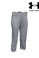 Under Armour Under Armour Women's  One Hop Softball Pant Solid Color-Youth Grey XS