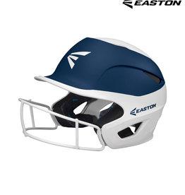 "Easton Easton Prowess Grip 2-tone fastpitch softball batting helmet w/Mask SM/MED (6"" - 6 1/2"")"