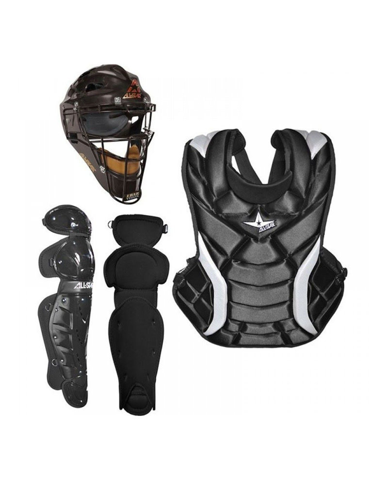 """All Star Sporting Goods All-Star Women's Player Series 14.5""""  Fast Pitch Catchers Kit (Includes MVP2310SP Helmet)"""