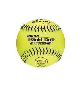 "Worth Worth 12"" Pro Tac Super Gold Dot Extreme Softball"
