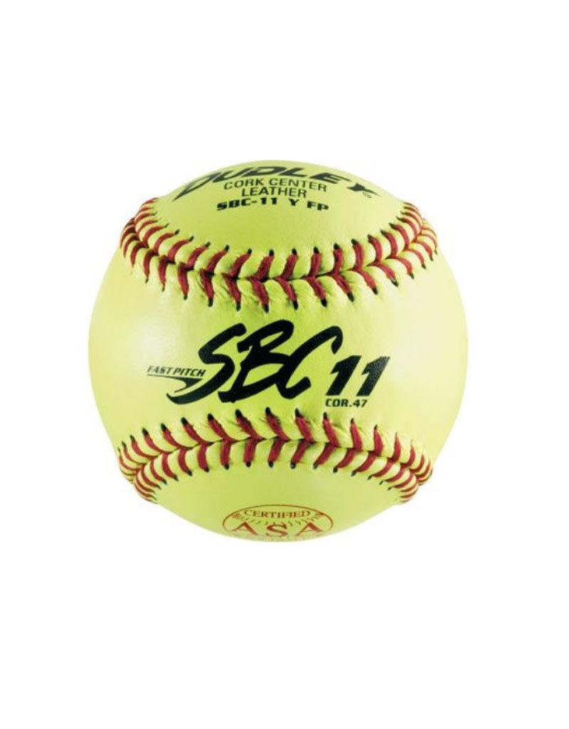 "Dudley Dudley 11"" Fast Pitch ASA Softball (Dozen)"