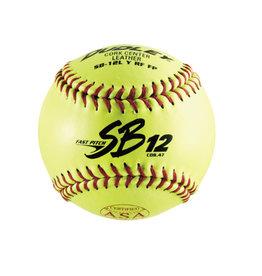 "Dudley Dudley 12"" Fast Pitch ASA Softball (Dozen)"