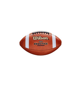 Wilson Wilson GST-P3  High School  Leather Practice Football