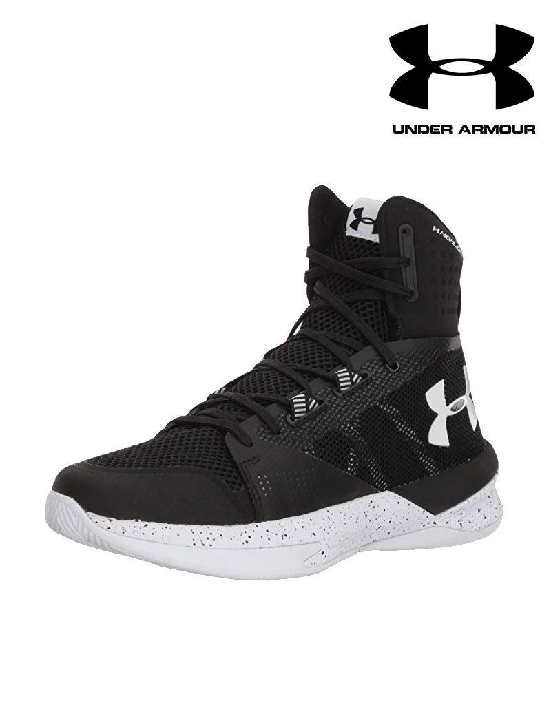 under armor high top shoes