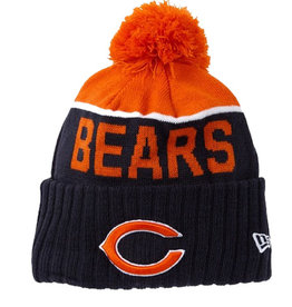 New Era New Era NFL Cold Weather Official Sport Knit Beanie Chicago Bears
