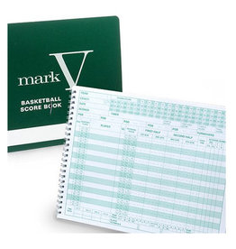 Mark V 30 Game Basketball Scorebook
