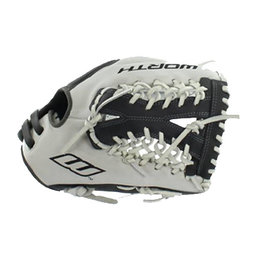 "Worth Worth Liberty Adanced Fastpitch Series 12.5"" Softball Glove Dark Grey with Light Grey"
