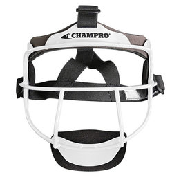 Champro Champro THE GRILL Defensive Fielders Face Mask-Youth (White)