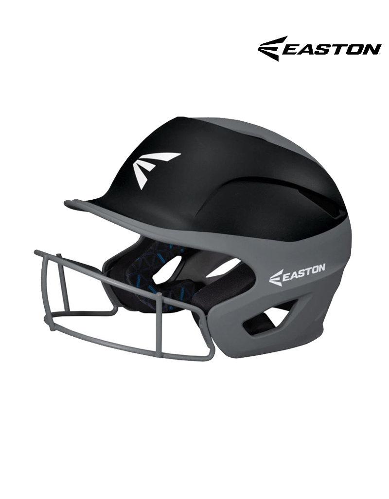 "Easton Easton Prowess Grip 2-tone fastpitch softball batting helmet w/Mask Med/LG   (6 7/8"" - 7 3/8"")"