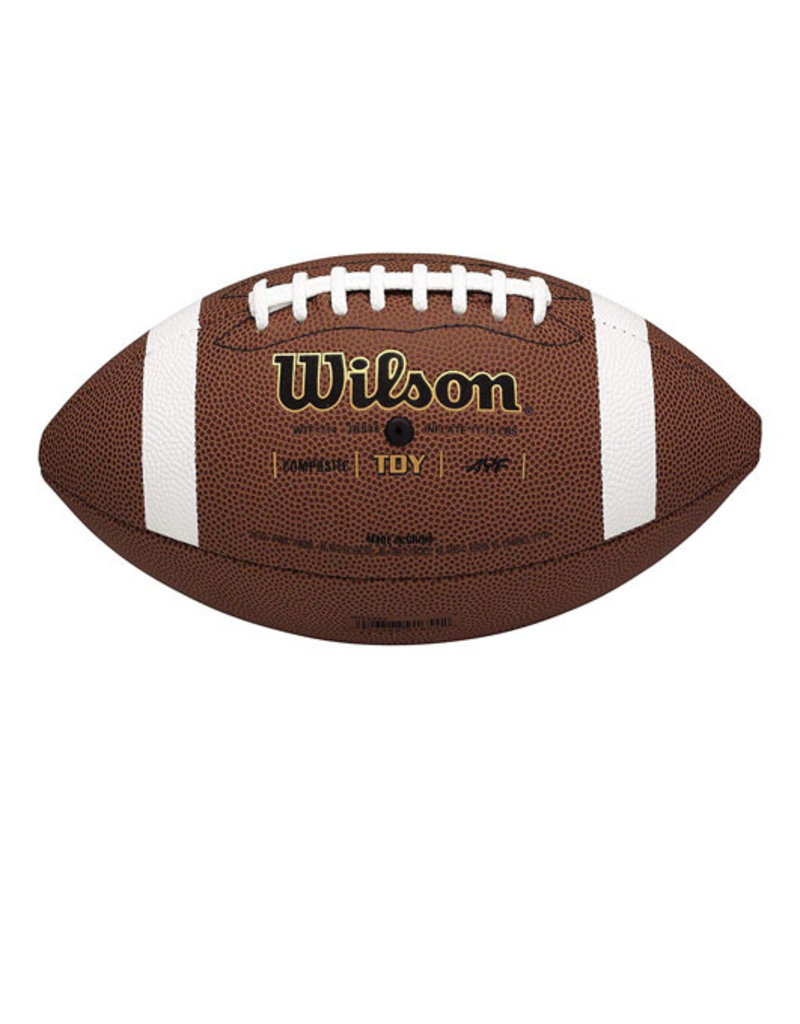 Wilson Wilson Composite Leather Youth Football TDY -Retail Box